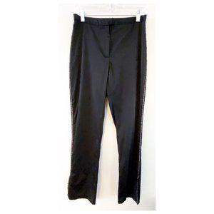 Express World 90's Black Rhinestone Tux Pants 5/6
